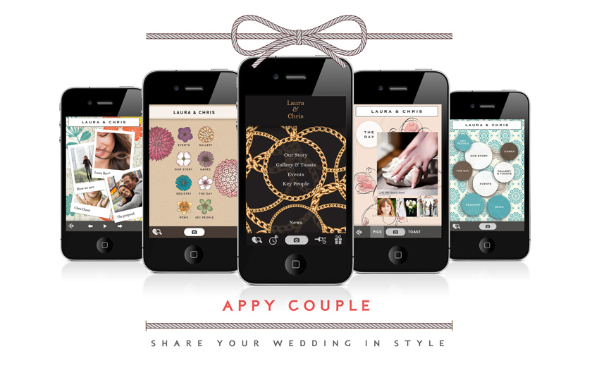 Appy Couple. Anche il wedding ha la sua App